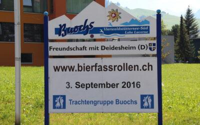 85 Jahr Jubiläum Trachengruppe Buochs – 3. September 2016