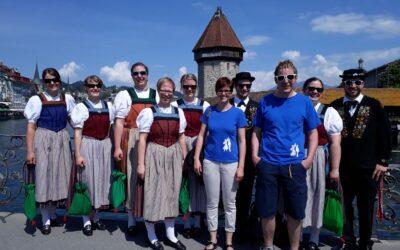 Tanzen und Danken in Luzern 12. Mai 2018
